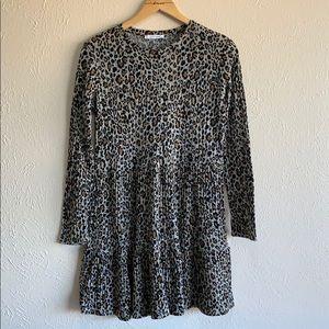 Leopard Zara dress